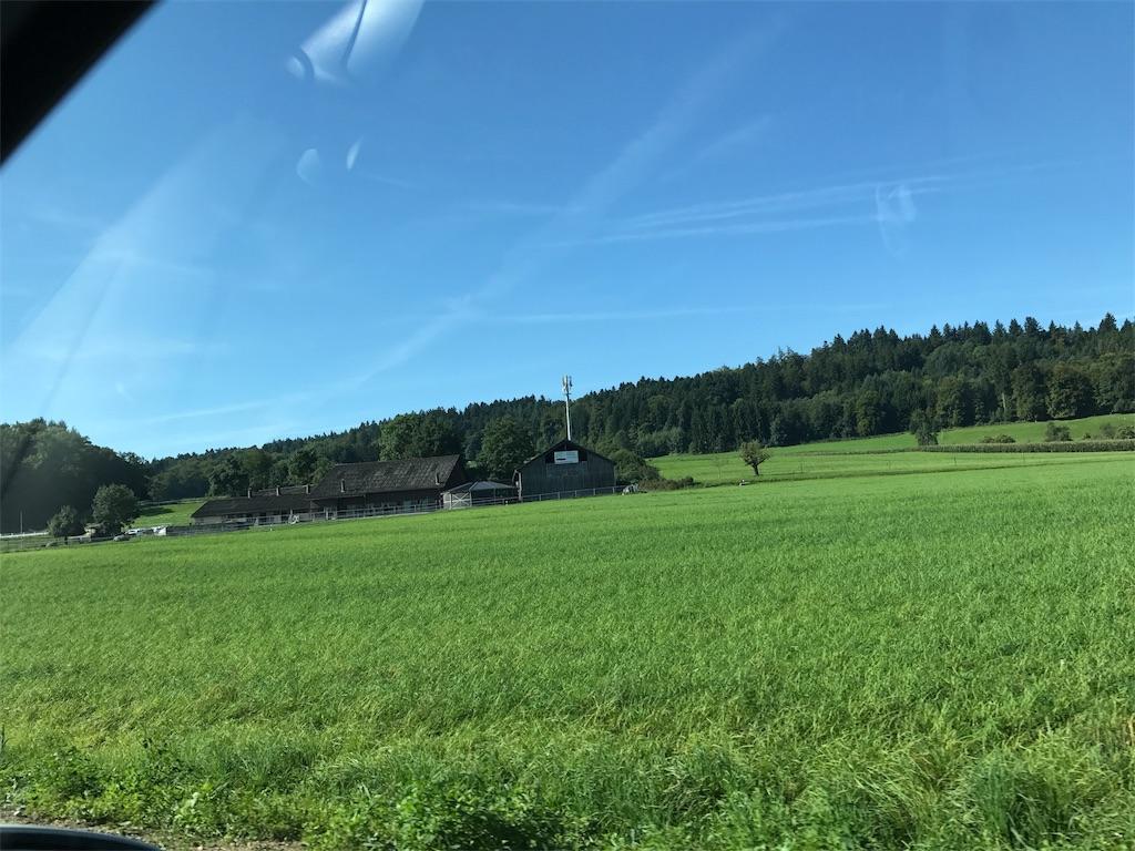 ヨーロッパ出張2日目 スイス・チューリヒ近郊