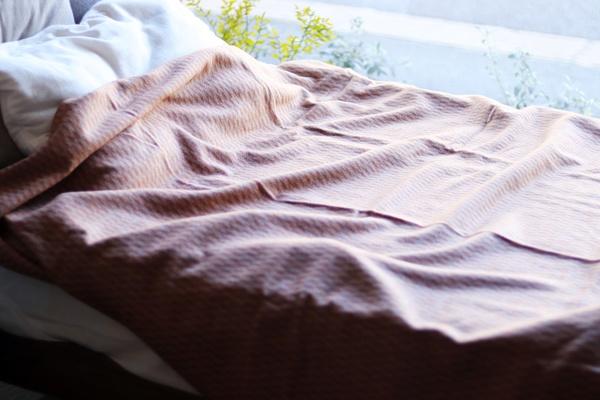 ウール混カシミヤ毛布
