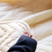 呼吸する羊毛肌掛ふとん(薄手)のサムネイル