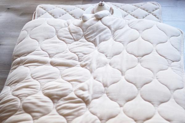 ベビー羊毛冬掛布団のサムネイル